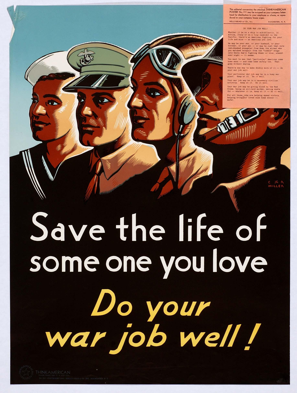 Do Your War Job Well!