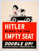 HITLER RIDES IN THE EMPTY SEAT