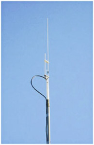2-meter J-pole antenna for the 145.585MHz audio retransmission of NASA TV