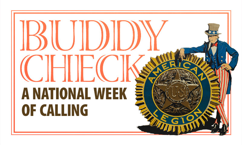 Buddy Check: A National Week of Calling