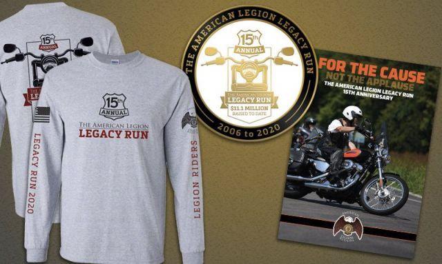 Reminder about law officer award, flu shot, Legacy Run