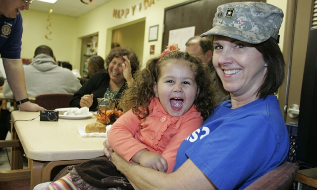 The 'biggest and best' Veterans Day dinner
