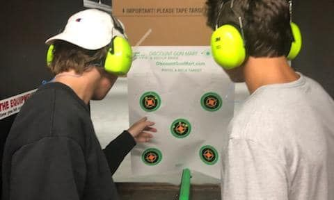 100 miles challenge supports  new Shooting Sports program in California
