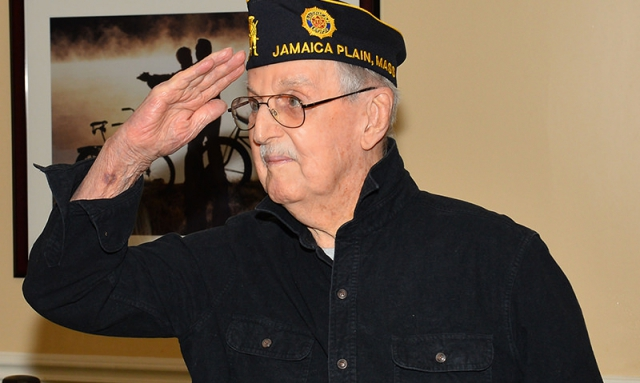 96-year-old World War II veteran joins the Legion