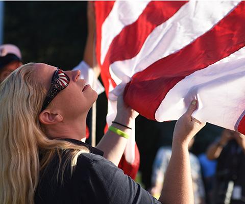 American Legion Flags