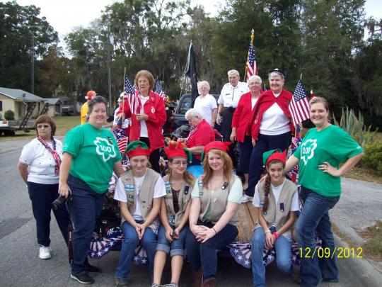 Belleview Christmas Parade Route 2020 Belleview American Legion Auxiliary Unit 284 & Girl Scout Troop