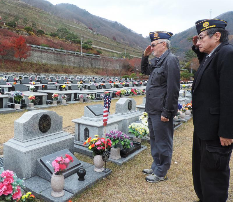 Paying homage to American veteran on Veterans Day