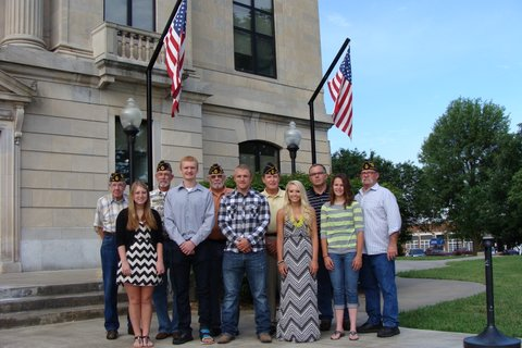 Brown County Veterans Honor Guard awards scholarships