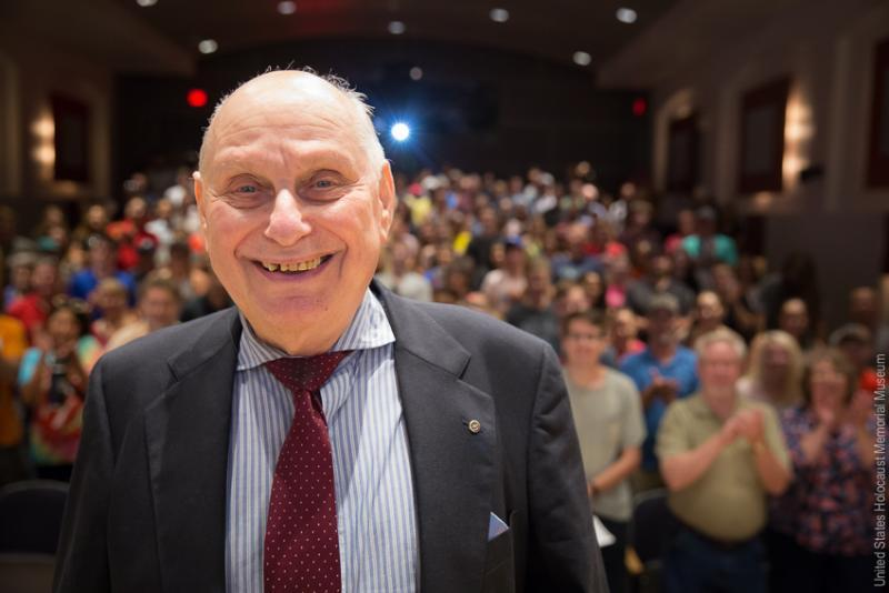 Post vice commander was stateless citizen and Holocaust survivor who pioneered the idea of presidential televised debates