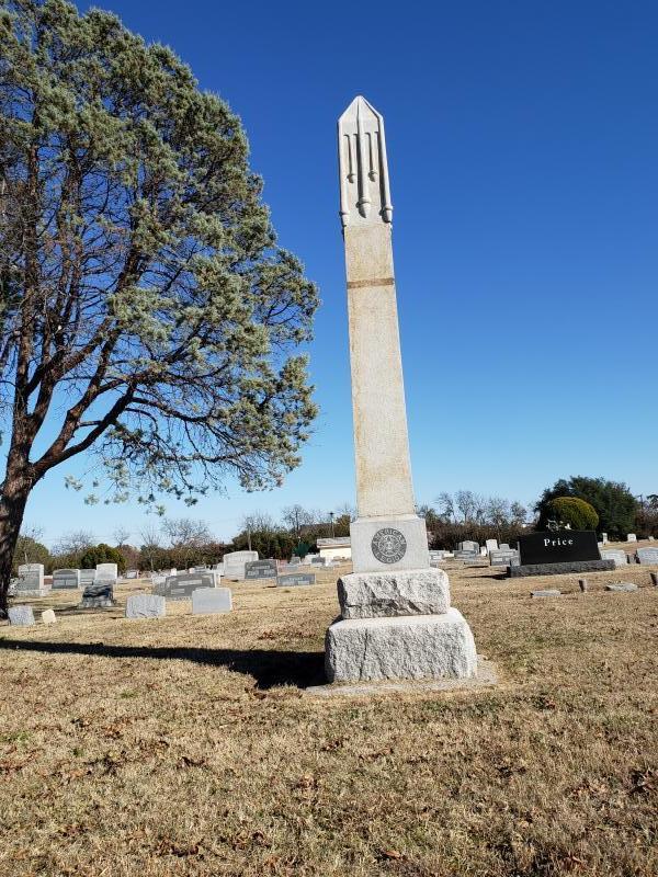 American Legion Monument, Fairview Cemetery, Gainesville, Texas