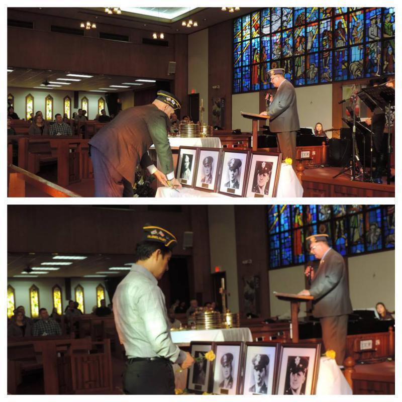 Col. Lewis L. Millett Memorial Post 38 Four Chaplains observance ceremonies