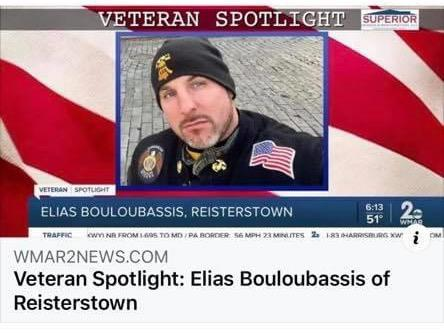 Liberty Post 122 American Legion Riders director honored by Baltimore TV station