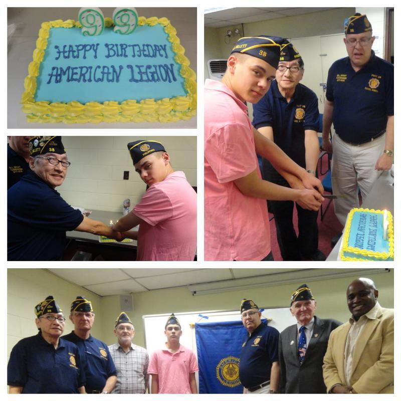 99th birthday of American Legion