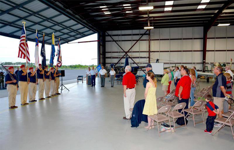 American Legion, Post 543 Honor Guard at change of command ceremony