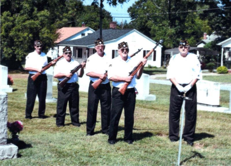 Cherryville ceremonial guard honors veterans