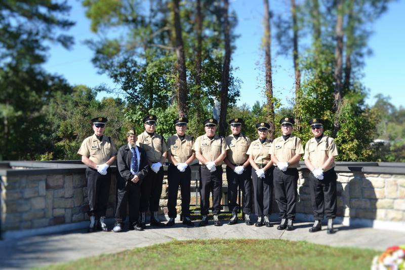 Post 166, Goose Creek, S.C., Veterans Day Ceremony 2015