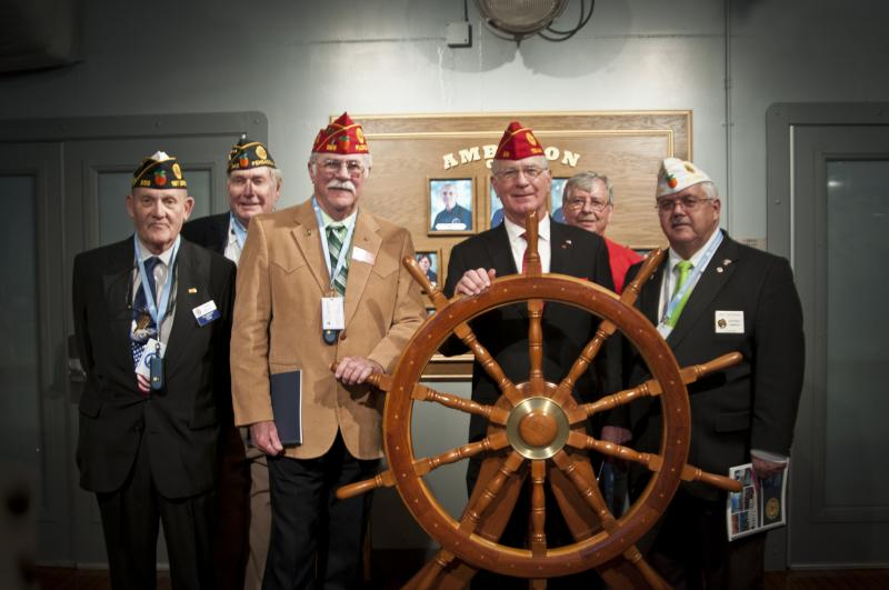 Florida Legion visits Naval Aviation Museum & National Flight Academy