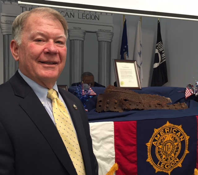 Post 71 receives treasured artifact