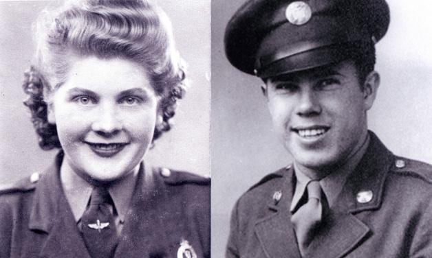 Transatlantic love story: WWII veterans to celebrate 70 years of marriage