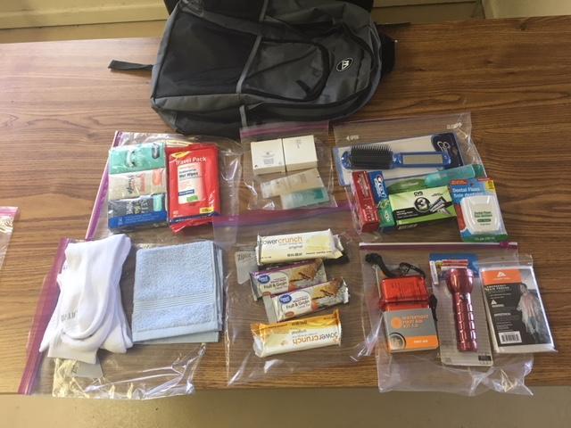 Homeless Veterans program donates 24-hour homeless kits to VA in support of OCW