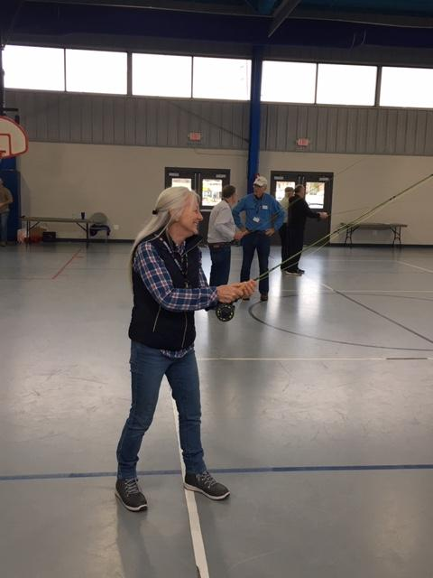 Cherokee County disabled and elderly veterans learn to fly fish through innovative partnership program