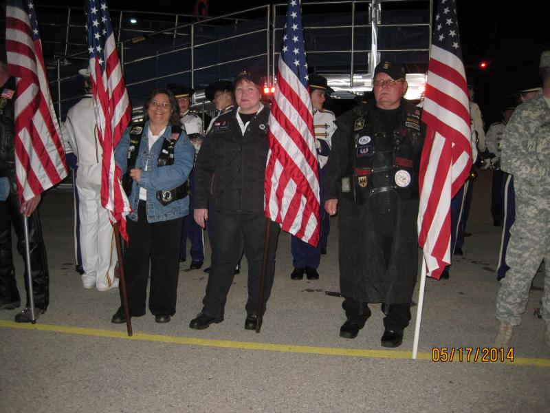 Winona American Legion Riders welcome home Freedom Honor Flights