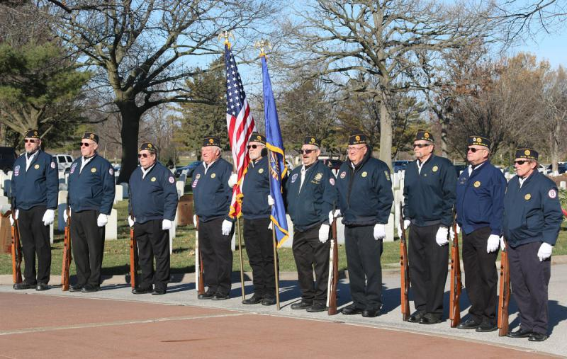 Wreaths Across America, Rock Island National Cemetery