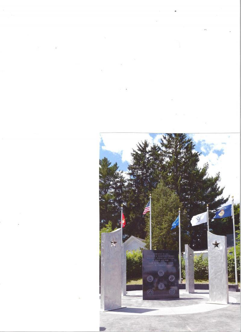 Homefront Heroes & Veterans Memorial in Big Rapids, Mich.