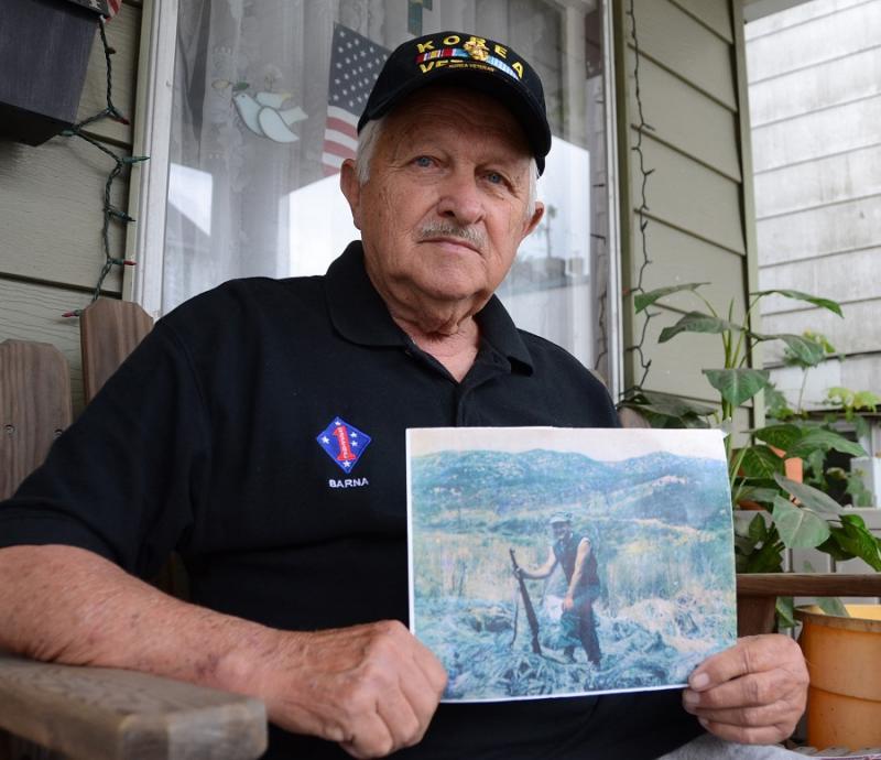 Veterans Day letter by Korean War Marine veteran