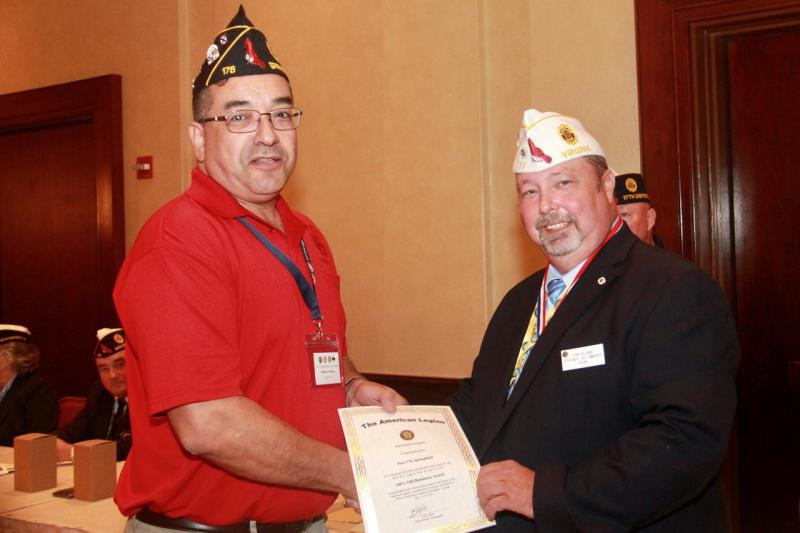 17th District Commander of the Year