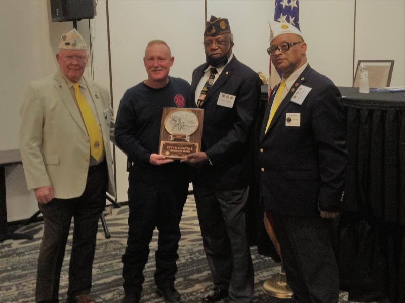 Courville is 2020 Department of Louisiana Firefighter of the Year