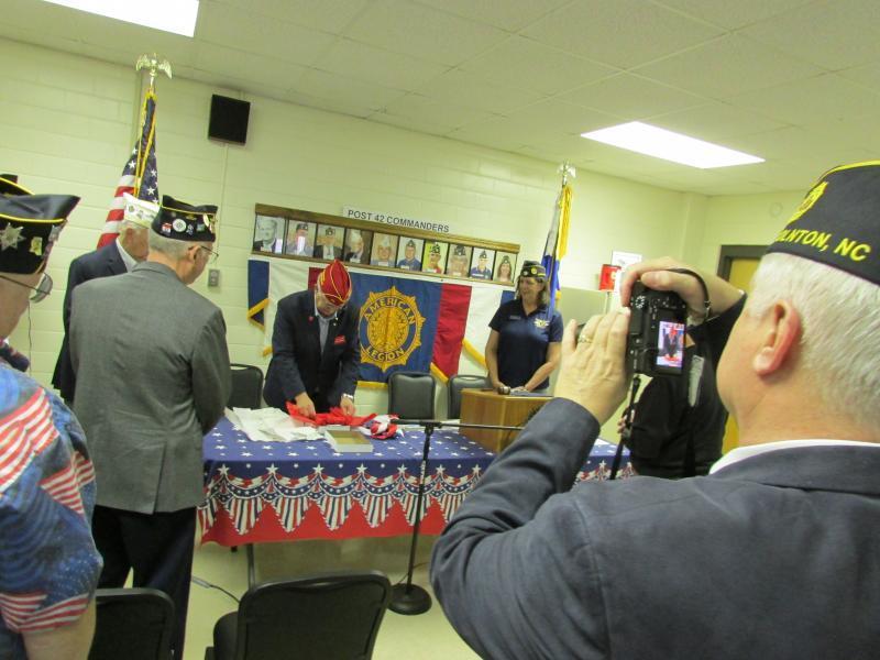 American Legion national commander visits Post 42, Ocean Springs, Miss.