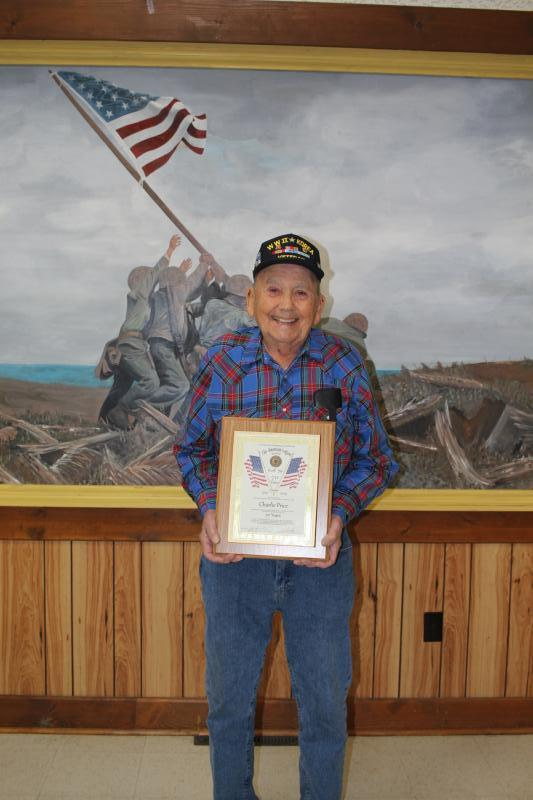 Ruel Neal Post 79 honors two 70-year members