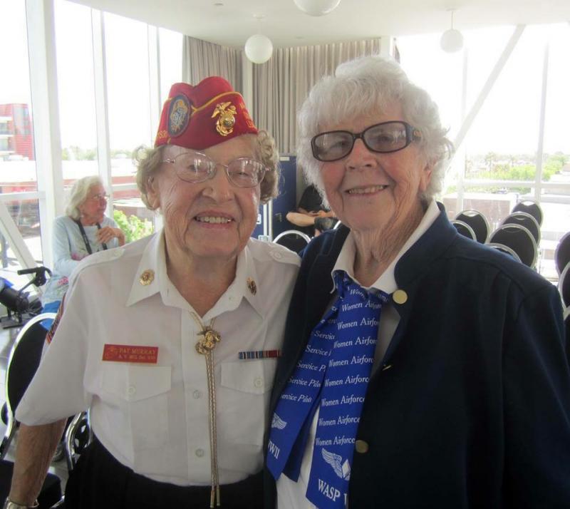 World War II Marine's 100th birthday at Legion Post 348 (CA)