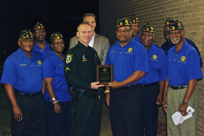 Florida post honors officer of the year