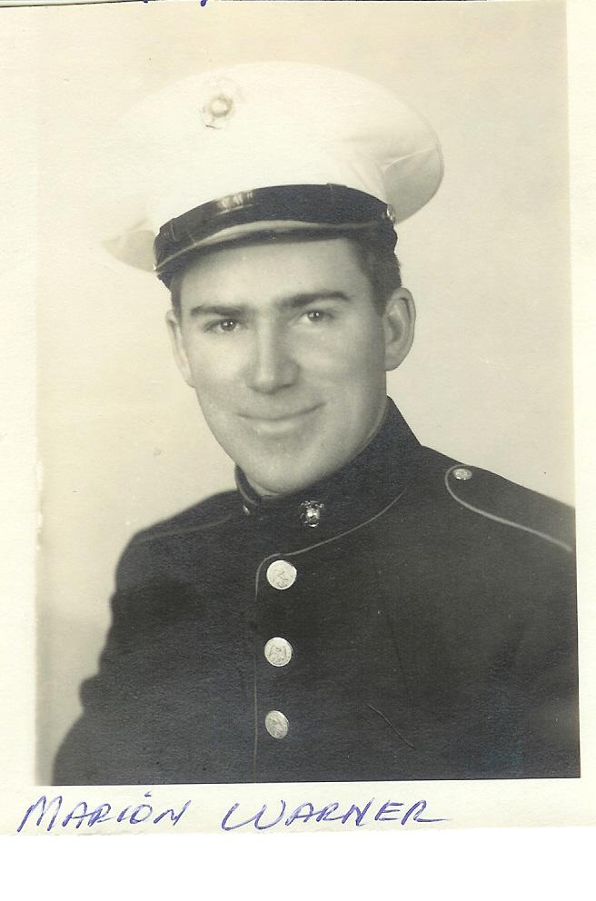 Marine proudly recalls service during World War II