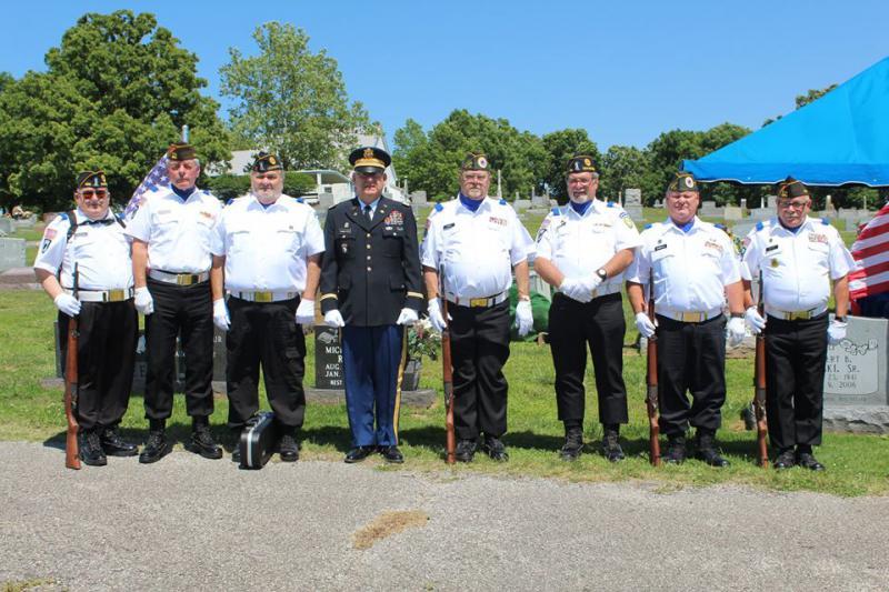 The Veterans Honor Guard dedicates itself to service