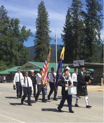 Memorial Day in Saint Regis, Mont.