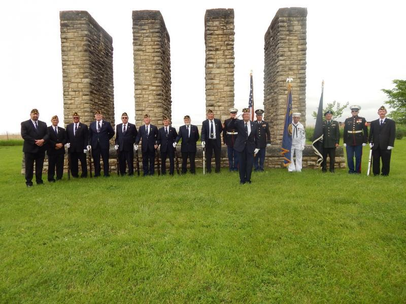 S.M.N.&R. Post 163 (Marysville, Kan.) Memorial Day service