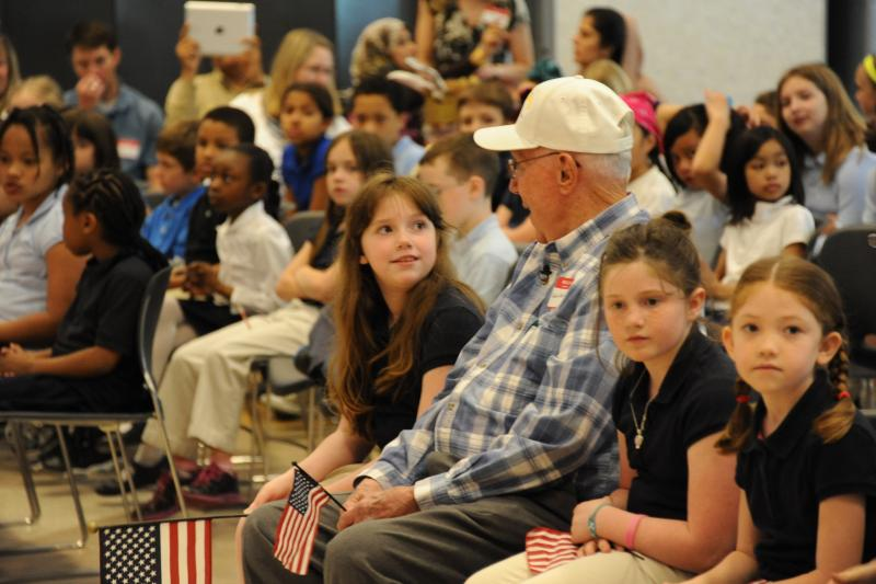 Student's letter helps WWII vet receive medals after 67 years
