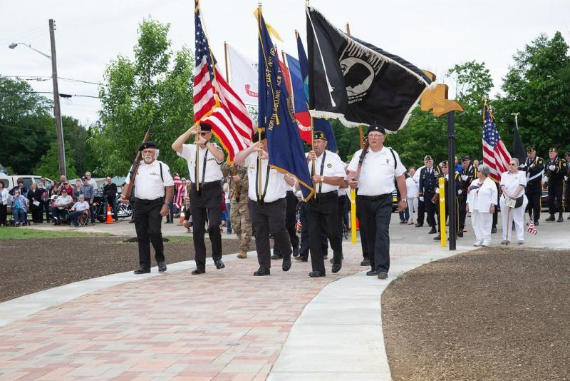 North Collins (N.Y.) American Legion Post 1640 and Bricklayers Local 3 NY create North Collins Veterans Tribute