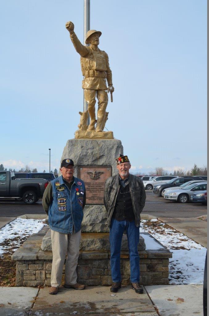 Columbia Falls (Mont.) Post 72 launches successful restoration of historic doughboy statue