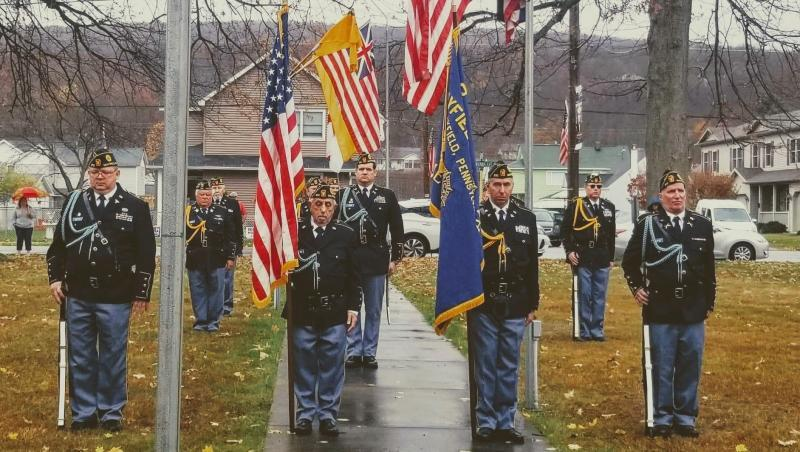 American Legion Post 610 (Mayfield, Pa.) Veterans Day 11 a.m. ceremony