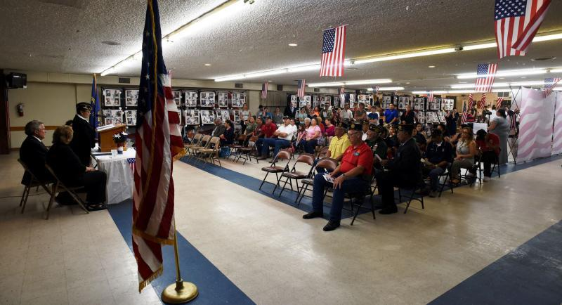 Post 245 hosts tribute to Texas' fallen