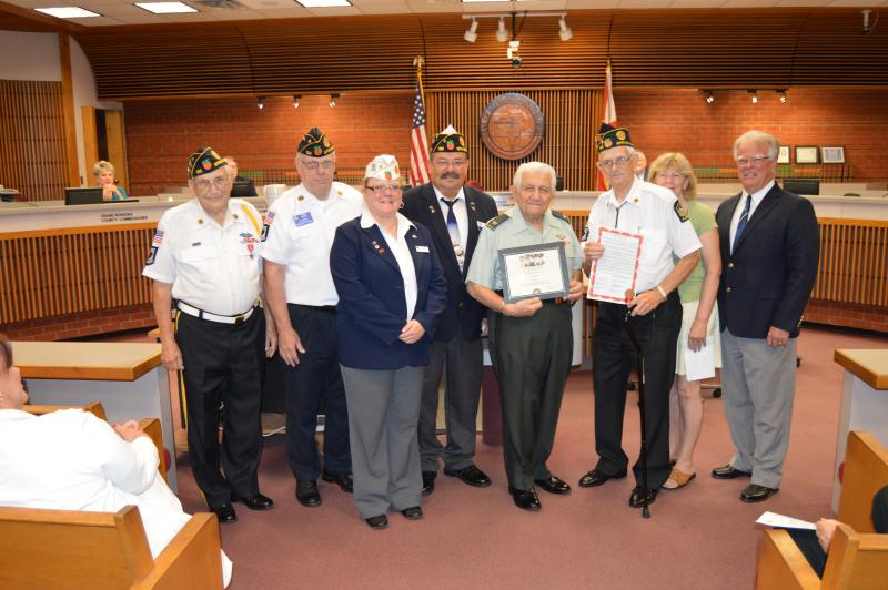 "Chaplain Charlie Haig receives ""Legion of Honor"" award"
