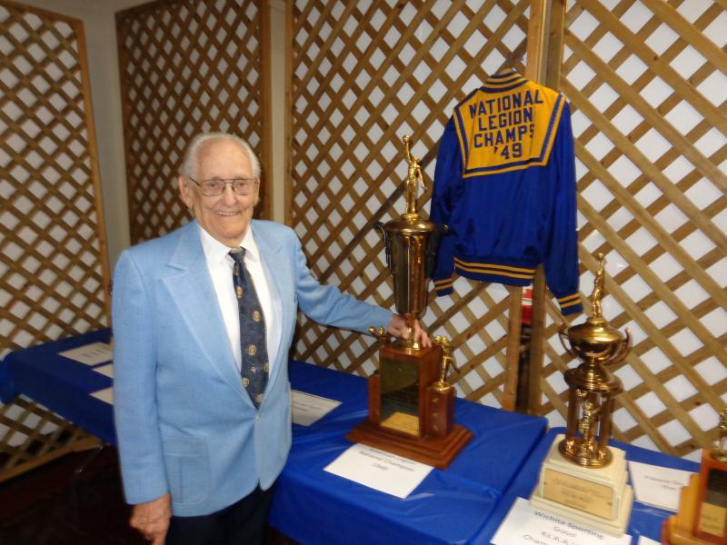 Legion honors basketball champ