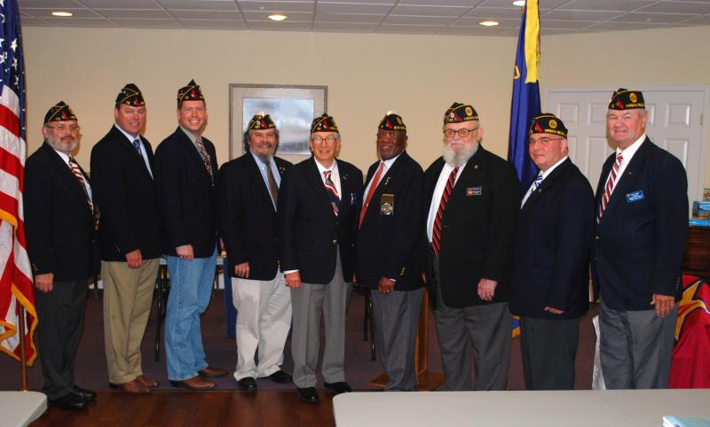 American Legion Post 110 holds officer installation ceremony