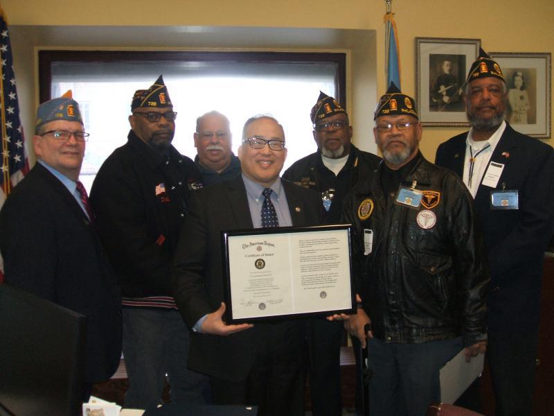 Honoring Philadelphia councilman David Oh