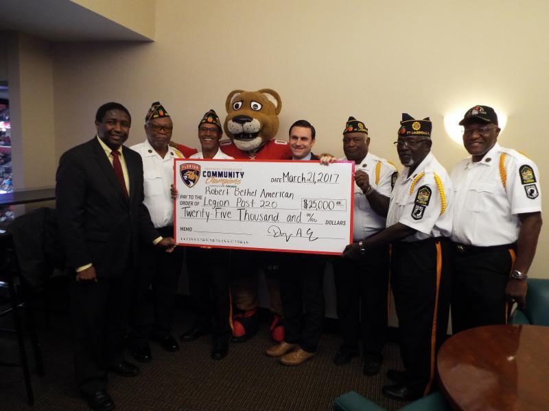 Robert Bethel American Legion receives $25,000 donation