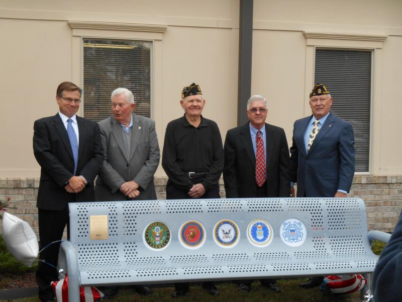 New Benches Donated at the Cambridge VA Outpatient Clinic